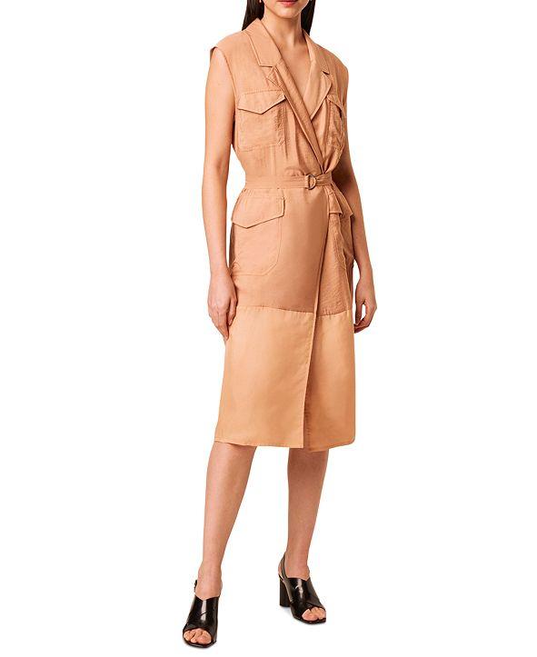 French Connection Brekhna Safari Sleeveless Dress