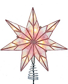 10-Light 7-Point Capiz Star Treetop