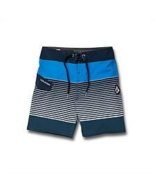 Little Boys Lido Liney Mod Boardshort