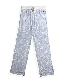 Women's Relaxed-Fit Pajama Pants
