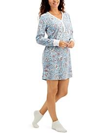 Sleepshirt & Socks 2pc Set, Created for Macy's
