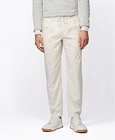 BOSS Men's Symoon Tapered-Fit Pleatfront Trousers