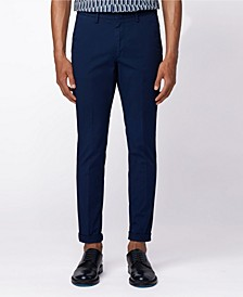 BOSS Men's Kaito Slim-Fit Flat-Fronted Chinos