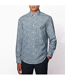 BOSS Men's Lukas F Regular-Fit Floral Shirt