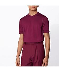 BOSS Men's Imatteo Short-Sleeved Knitted Sweater