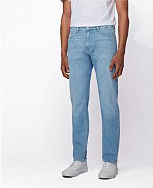 BOSS Men's Regular-Fit Jeans in Bright Blue Denim