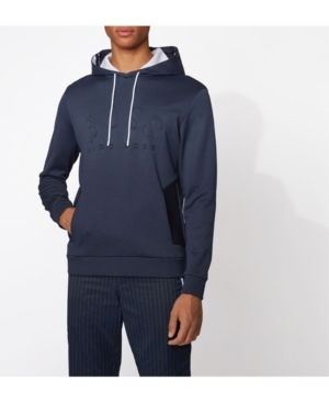Boss Men's Soody Logo-Print Hooded Sweatshirt