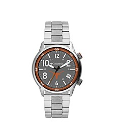 Men's Outbacker Texas Stainless Steel Bracelet Watch 45mm