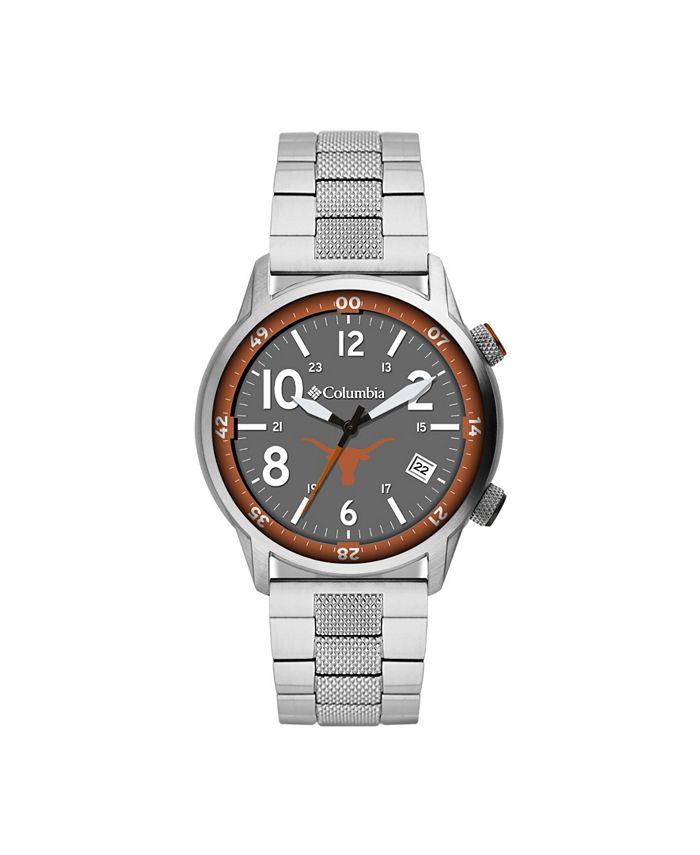 Columbia - Men's Outbacker Texas Stainless Steel Bracelet Watch 45mm