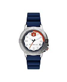 Men's Peak Patrol Auburn Silicone Strap Watch 45mm