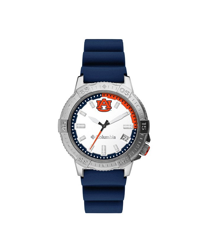 Columbia - Men's Peak Patrol Auburn Silicone Strap Watch 45mm