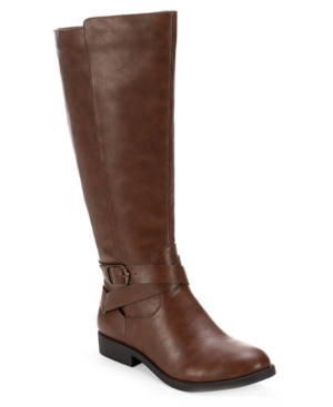 Style amp Co Madixe Riding Boots Created for Macy s Women s Shoes E549