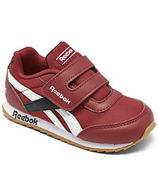 Reebok Toddler Boys Royal Classic Jogger 2 Platform Stay-Put Closure Casual Sneakers from Finish Line