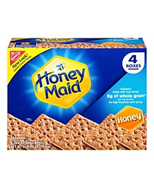 Honey Maid Honey Graham Crackers Value Pack, 4 Count
