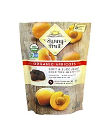Organic Dried Turkish Apricots, Pack of 3