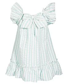 Baby Girls Seersucker Cotton Dress, Created for Macy's