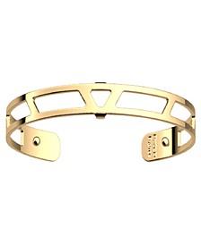 Triangular Openwork Extra-Thin Adjustable Cuff Ibiza Bracelet, 8mm, 0.3in