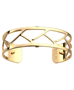 Large Chamber Openwork Thin Adjustable Cuff Tresse Bracelet