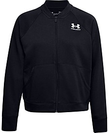 Women's Rival Fleece Bomber Jacket