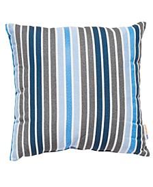 "Outdoor Parker Stripe 20"" x 20"" Decorative Pillow, Set of 2"