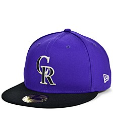 Colorado Rockies Plate Patch 59FIFTY Cap