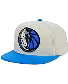 Dallas Mavericks Natural XL Snapback Cap