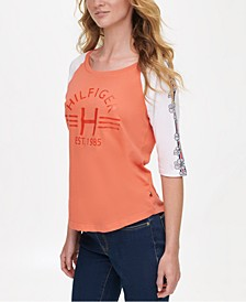 Cotton Baseball T-Shirt, Created for Macy's