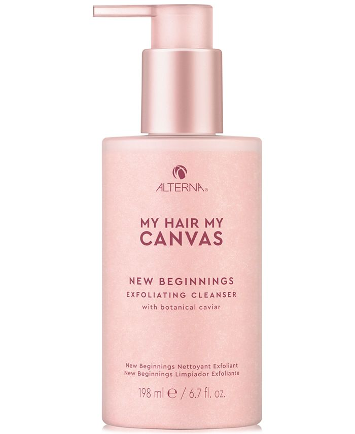 Alterna - My Hair My Canvas New Beginnings Exfoliating Cleanser, 6.7-oz.