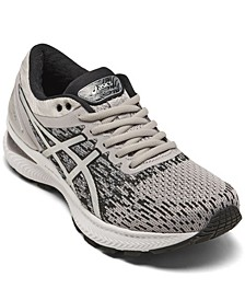 Women's GEL-Nimbus 22 Knit Running Sneakers from Finish Line