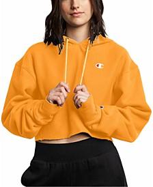 Women's Reverse Weave Cropped Hoodie