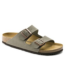Women's Arizona Birko-Flor Soft Footbed Sandals from Finish Line