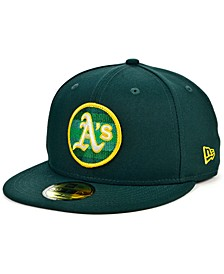 Men's Oakland Athletics Circle Fade 59FIFTY-FITTED Cap