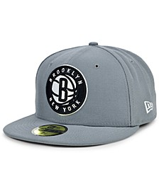 Brooklyn Nets Storm Solid Team 59FIFTY-FITTED Cap