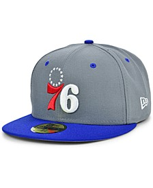 Men's Philadelphia 76ers Storm 2 Team Color 59FIFTY-FITTED Cap