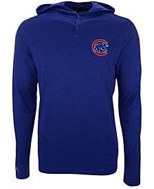 Chicago Cubs Men's Fuel Hooded Henley Top