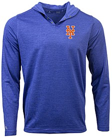 New York Mets Men's Fuel Hooded Henley Top