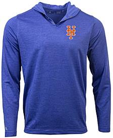 New York Mets Men's Fuel Hooded Henley Top