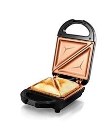Nonstick Ti-Ceramic Single Sandwich Maker