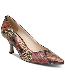 Women's Julianne Patchwork Pumps