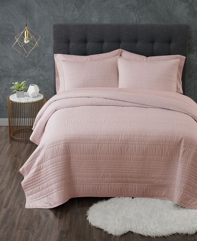 Truly Calm Full/Queen 3-Piece Quilt Set