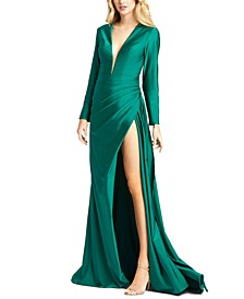 Side-Slit Gown