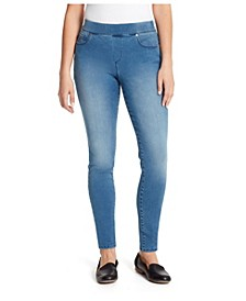 Women's Avery Pull On Slim Jeans Pant, in Regular & Petite Sizes