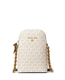 Signature Small North South Chain Phone Crossbody