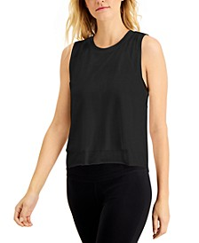 Mesh-Layered Tank Top, Created for Macy's