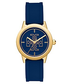 Women's Gigi Blue Silicone Strap Watch 36mm