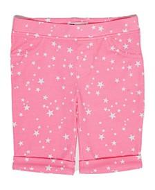 Little Girls Star Bermuda Short