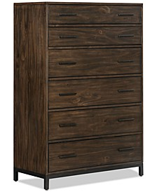 Gatlin 6 Drawer Chest, Created for Macy's