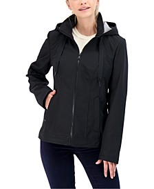 Juniors' Hooded Rain Jacket