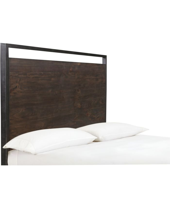 Furniture Gatlin Brown King Platform Storage Bed, Created for Macy's & Reviews - Furniture - Macy's