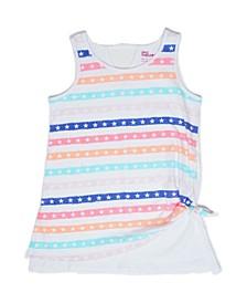 Big Girls Star Stripe Tank